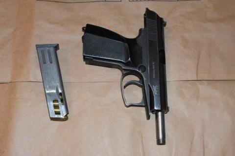 Firearm recovered from William Watson's address