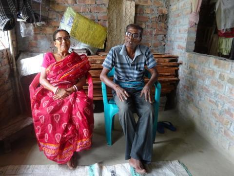 Kalpana och Amal Biswas Fotograf Uttam Adak
