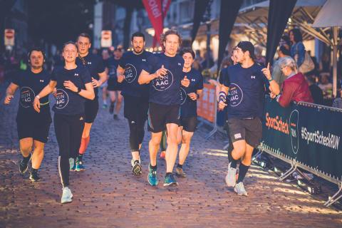 In Erfurt starten in diesem Jahr etwa 2.000 Läuferinnen und Läufer.
