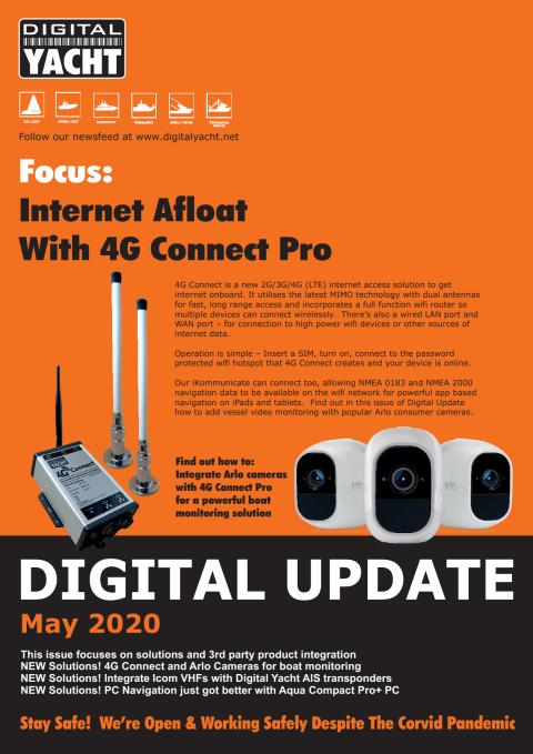 Digital Yacht Update May 2020 Edition Available Now