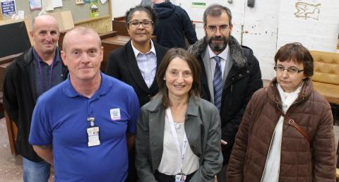Criminal Justice Sheriff and visiting Spanish Judiciary