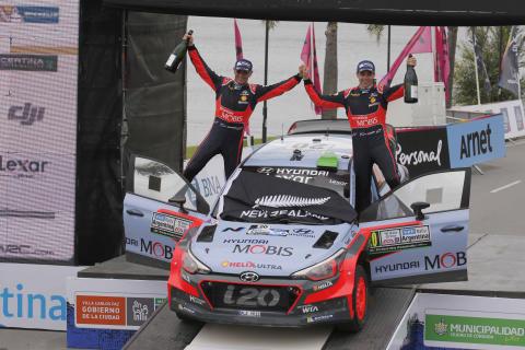 Nordmann hjelper rallyfører til topps i rally-VM