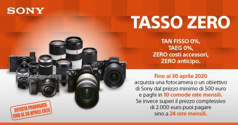 Sony_Promozione Tasso Zero