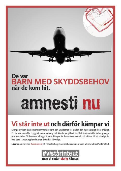 Hur många fler barn och unga ska dö innan Sverige ger amnesti?
