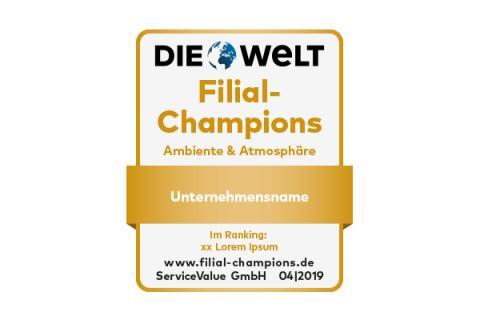 Zum Verweilen schön: Deutschlands Filial-Champions