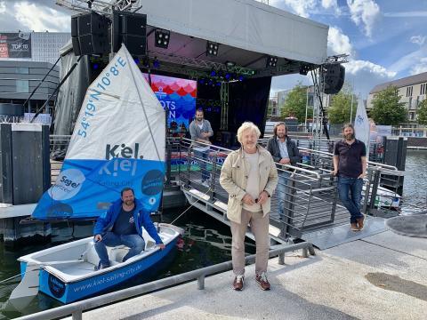 Die Macher des Bootshafensommers 2020