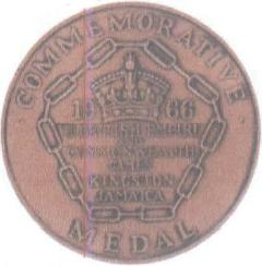 Replica image of a medal stolen during a burglary in Monks Risborough