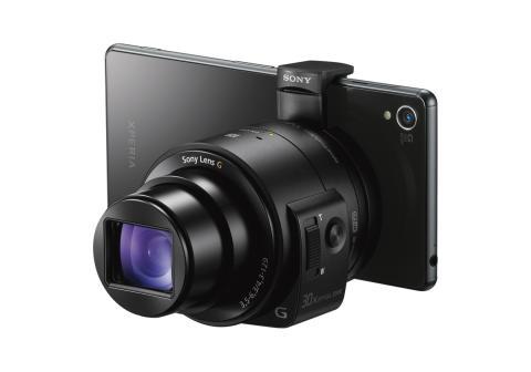 Sony étend sa gamme de « Smart Lens » :  de véritables appareils photo pour smartphones et tablettes
