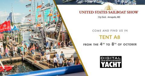 Digital Yacht at Annapolis Sail Show - Booth A8