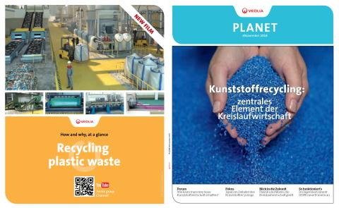 How and why, at a glance - Recycling plastic waste