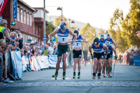 Petter Northug først i mål
