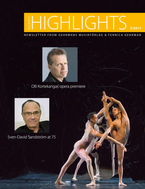 Nordic Highlights No. 3 2017- Newsletter from Gehrmans Musikförlag & Fennica Gehrman