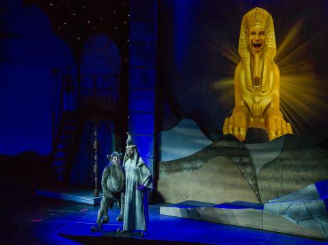 Pressbild Äventyret Aladdin