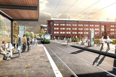 Uppsalapaketet innehåller historisk satsning på hållbart resande och bostäder
