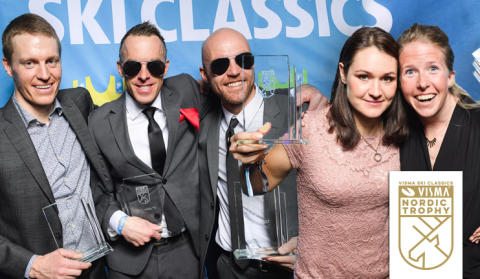 Vinnarna i Visma Nordic Trophy korade