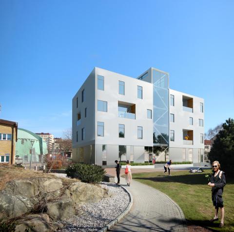 Akademiska Hus och HSB samarbetar om framtidens hållbara bostäder