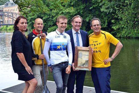 Eine Stadt - ein Team: Gemeinsame Vermarktung des Olympischen Sports