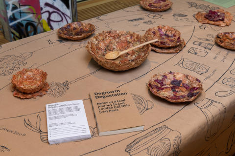 """Londonon, """"Forensics of Food"""", The Library, The National - Museum. Photo: OAT / Istvan Virag"""