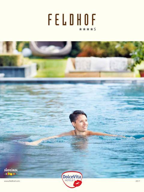 DolceVita Hotel Feldhof Naturns - Hotelkatalog 2017
