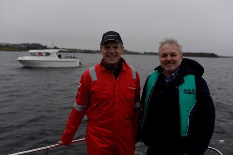 «Freya» skanner havbunnen etter spor fra Slaget i Hafrsfjord