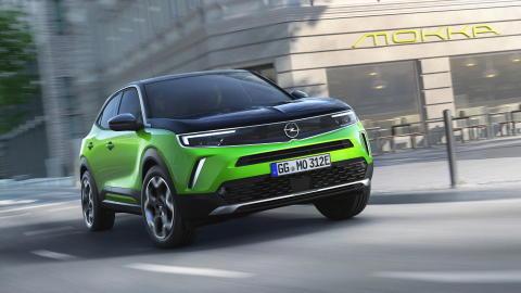 Nya Opel Mokka – 100 % elektrisk och med nytt designspråk