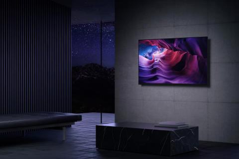 "TV OLED 4K HDR A9 Serie MASTER_48"""