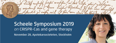 Pressinbjudan: Scheelesymposium 28 november CRISPR-Cas och genterapi