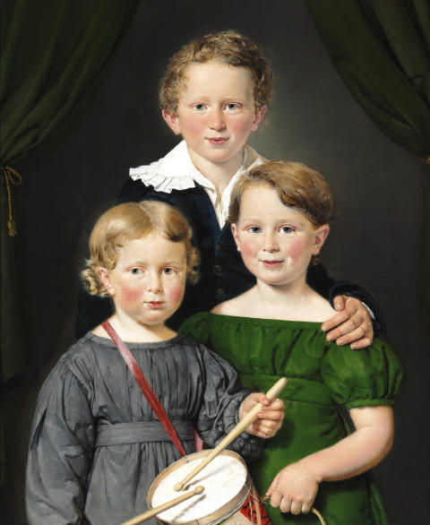 Malerisamlingen erhverver nyt guldalderportræt