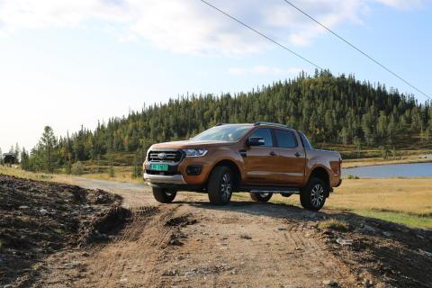 Ford Ranger Norefjell 2019
