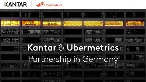 Kantar und Ubermetrics kooperieren bei Datenbeschaffung und Content-Auswertung