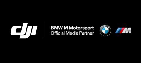 DJI Becomes Official Media Partner Of BMW Motorsport