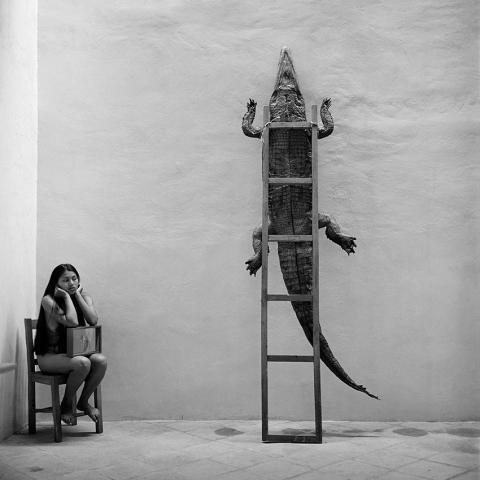 © Graciela Iturbide, Alheli, Oaxaca, 1995