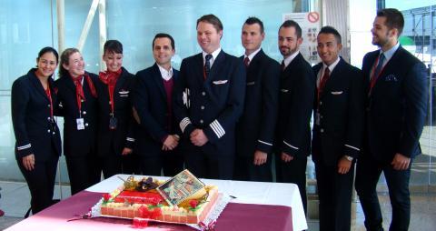 Norwegian avasi tukikohdan Barcelonassa/Barcelona base opening