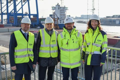 Port discussed the Ports Act and green transition with the Minister for Transport