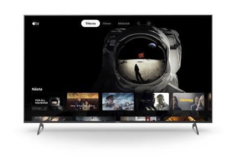 Sony lanserar Apple TV till utvalda smarta tv-apparater