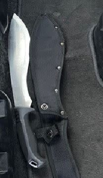 Weapon seized on 10 July in Chadwell Heath