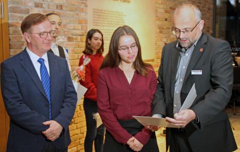 Übergabe Barnim-Stipendium 2020/21