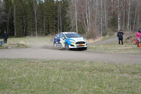 Ford EcoBoost-teamet och Daniel Röjsel är redo för den första sm-deltävlingen på grus –South Swedish Rally