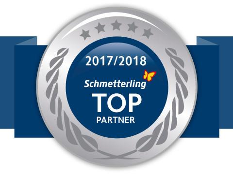 Neu und exklusiv: Online-Werbebanner für Schmetterling TOP-Partner