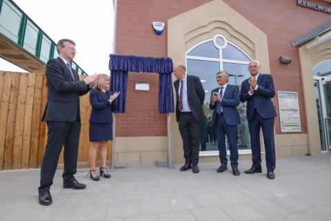Kenilworth station officially opened