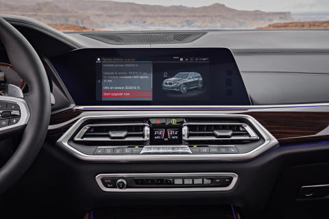 BMW ruller ut trådløs oppdatering av programvare i stor skala