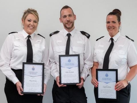 Acts of bravery, compassion and going above and beyond recognised