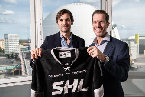 Betsson i nytt storavtal med SHL