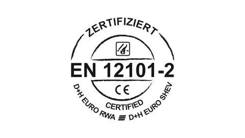 Naturliga rök- och brandgasventilationsenheter (NSHEV) enl. EN 12101-2