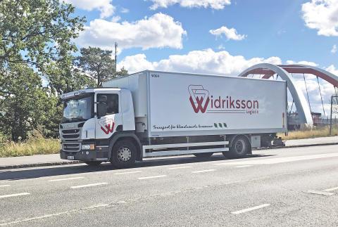 Textilia väljer Widriksson för klimatsmart logistik i Stockholm