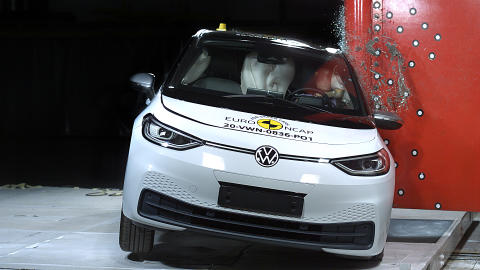 VW ID.3 pole test 2020