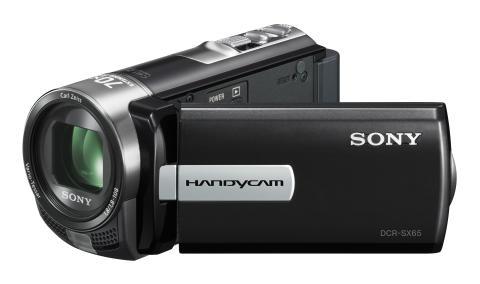 Handycam DCR-SX65E von Sony_Schwarz_02