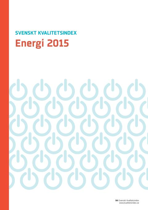 Svenskt Kvalitetsindex om Energibranschen 2015