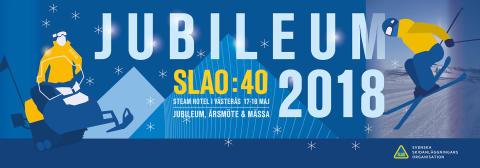 SLAO firar 40 år och blickar framåt