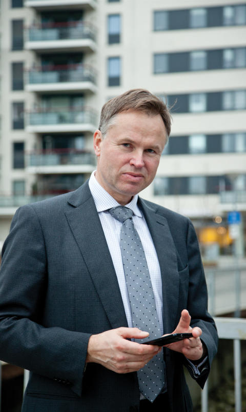 Øystein Moan CEO Visma AS